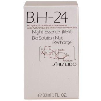 Shiseido B.H-24 tratament regenerator pentru noapte cu acid hialuronic rezerva 2