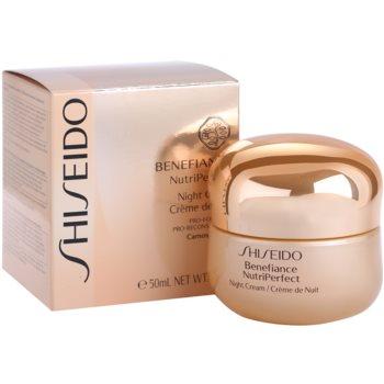 Shiseido Benefiance NutriPerfect revitalizační noční krém proti vráskám 2