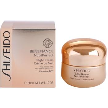 Shiseido Benefiance NutriPerfect revitalizační noční krém proti vráskám 3