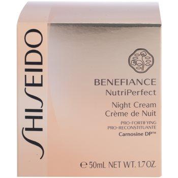 Shiseido Benefiance NutriPerfect revitalizační noční krém proti vráskám 4