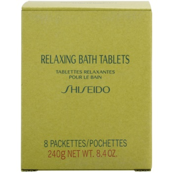Shiseido Body Relaxing relaksacijska šumeča tableta za kopel 2