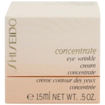Shiseido Concentrate protivráskový krém na oční okolí 2