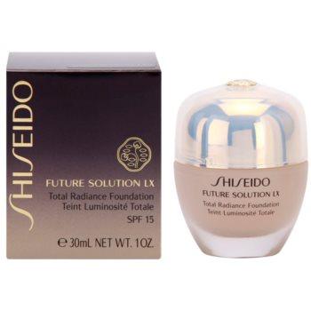 Shiseido Future Solution LX make-up pentru luminozitate SPF 15 2