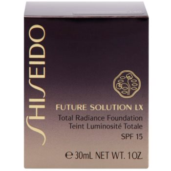 Shiseido Future Solution LX make-up pentru luminozitate SPF 15 3