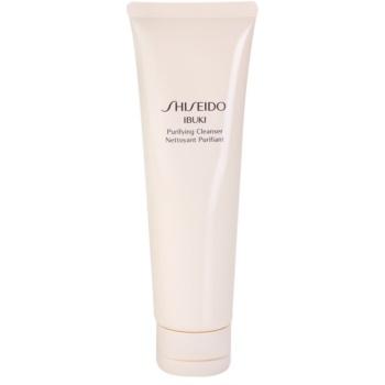 Shiseido Ibuki spuma pentru curatare racoritoare cu micro granule