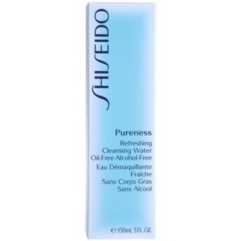 Shiseido Pureness lotiune tonifianta revigoranta pentru ten mixt si gras 4
