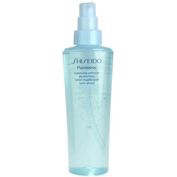 Shiseido Pureness tonizująca woda do twarzy bez alkoholu 1