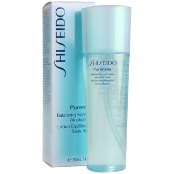 Shiseido Pureness tonizująca woda do twarzy bez alkoholu 2