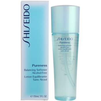 Shiseido Pureness tonizująca woda do twarzy bez alkoholu 3