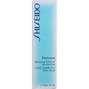 Shiseido Pureness tonizująca woda do twarzy bez alkoholu 4