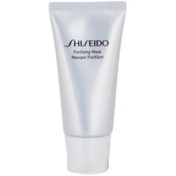 Shiseido The Skincare masca pentru piele lucioasa cu pori dilatati
