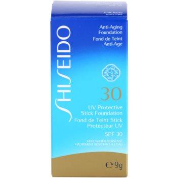 Shiseido Sun Foundation Base protetora à prova de água em stick SPF 30 2