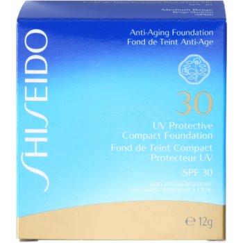 Shiseido Sun Foundation водостійкий тональний крем  SPF 30 3