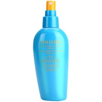 Shiseido Sun Protection spray pentru bronzat SPF 15 1