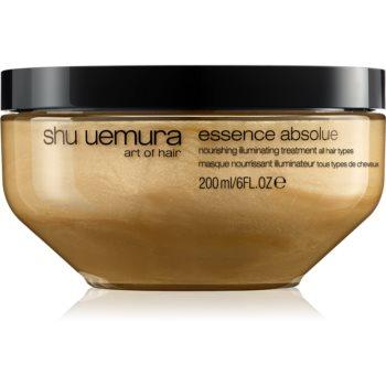 Shu Uemura Essence Absolue mască hrănitoare profundă pentru toate tipurile de păr