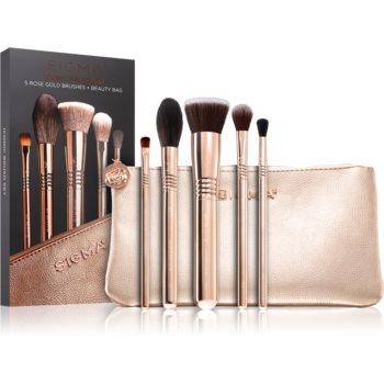 Sigma Beauty Iconic Brush Set set de pensule cu geantã II. imagine produs