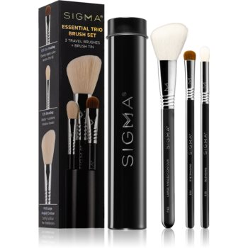 Sigma Beauty Essential Trio Brush Set set de pensule cu husã II. imagine produs