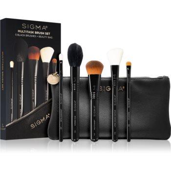 Sigma Beauty Untamed Multitask Brush Set set de pensule cu geantă