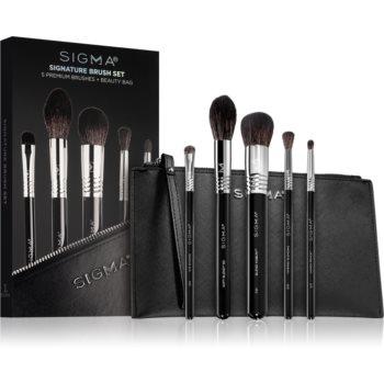 Sigma Beauty Signature Brush Set set de pensule cu geantă