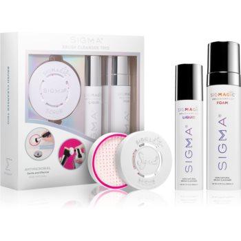 Sigma Beauty Brush Cleanser Trio set pentru curățarea pensulelor