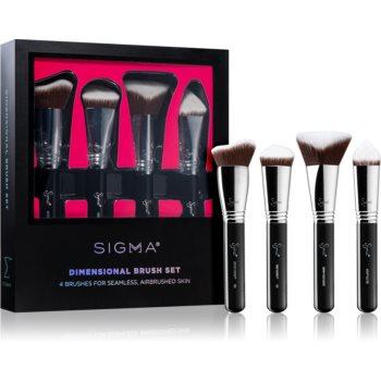 Sigma Beauty Dimensional Brush Set set perii machiaj pentru femei