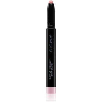 Sigma Beauty Clean Up + Highligh Brow Crayon creion iluminator pentru sprâncene