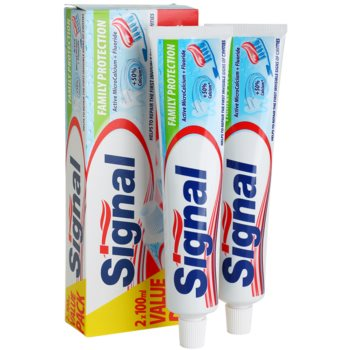 Signal Family Protection pasta de dinti impotriva cariilor dentare 1