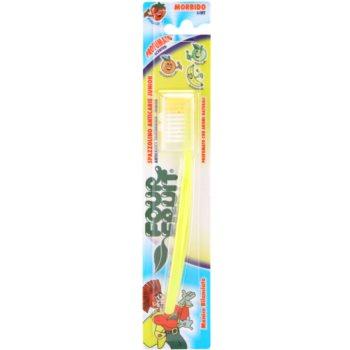 SilverCare Four Fruit Banana zapachowa szczoteczka do zębów dla dzieci soft