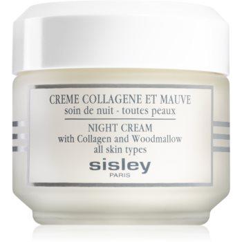 Sisley Night Cream With Collagen And Woodmallow Crema De Noapte Pentru Fermitate Cu Colagen