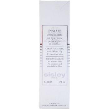 Sisley Cleanse&Tone lapte de curatare pentru ten uscat si sensibil 3