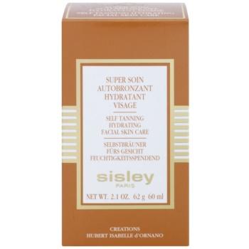 Sisley Self Tanners crema autobronzanta pentru fata cu efect de hidratare 2