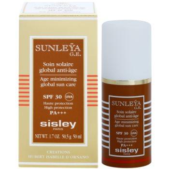Sisley Sun crema protectoare impotriva imbatranirii pielii SPF 30 2