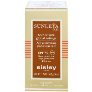 Sisley Sun crema protectoare impotriva imbatranirii pielii SPF 30 3