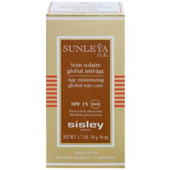 Sisley Sun creme protetor anti-idade SPF 15 3