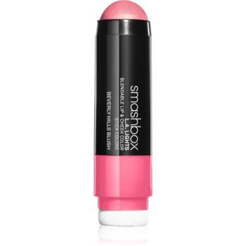 Smashbox L.A. Lights Lip & Cheek Color balsam de buze și Blush intr-unul singur
