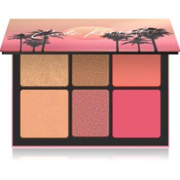 Smashbox Cali Highlight & Blush Palette paleta pentru fata multifunctionala facial