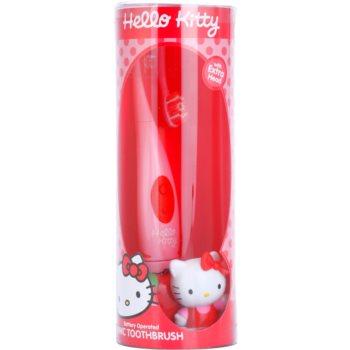 SmileGuard Hello Kitty periuta de dinti electrica pentru copii cu ultrasunete si cap de rezerva fin 1