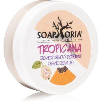 Soaphoria Tropicana crema deo organica poza noua