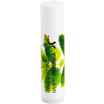 Soaphoria Lip Care bálsamo de lábios orgânico de melissa