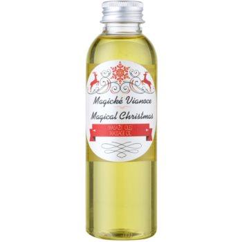 Soaphoria Magical Christmas organický masážny olej s regeneračným účinkom