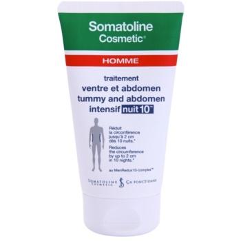 Somatoline Homme Nuit 10 crema cu efect de slabire pentru burta si solduri pentru barbati