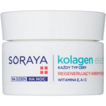 soraya collagen & elastin crema de fata regeneratoare cu vitamine