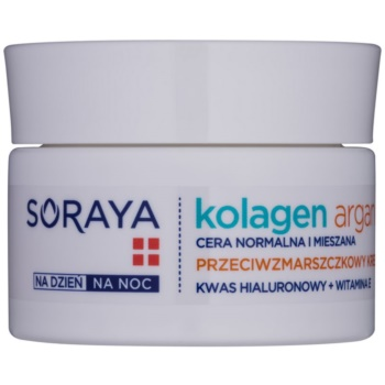 soraya collagen & argan crema hidratanta anti-rid cu acid hialuronic