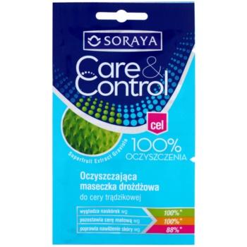 Soraya Care & Control reinigende Maske für das Gesicht gegen Akne