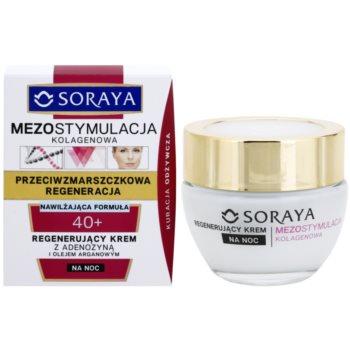 Soraya Collagen Mesostimulation crema regeneratoare de noapte antirid 1
