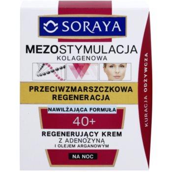 Soraya Collagen Mesostimulation crema regeneratoare de noapte antirid 2
