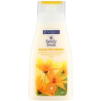 Soraya Family Fresh krémový sprchový gel s medem