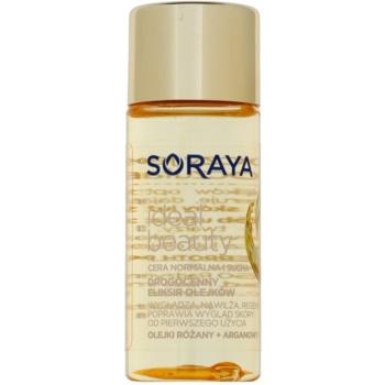 Fotografie Soraya Ideal Beauty regenerační olej s vyhlazujícím účinkem pro normální a suchou pleť 50 ml