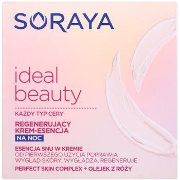 Soraya Ideal Beauty crema regeneratoare de noapte pentru toate tipurile de ten 2