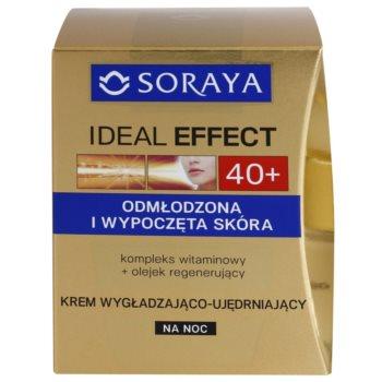 Soraya Ideal Effect verjüngende Nachtcreme für straffe Haut 2
